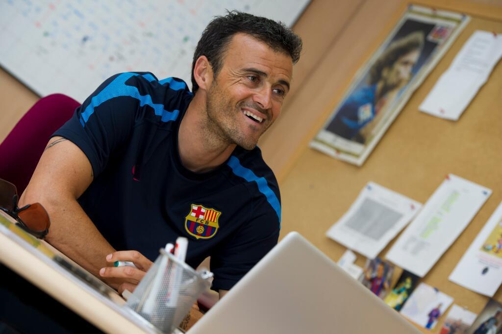 Luis Enrique es el elegido para tomar las riendas del Barça.