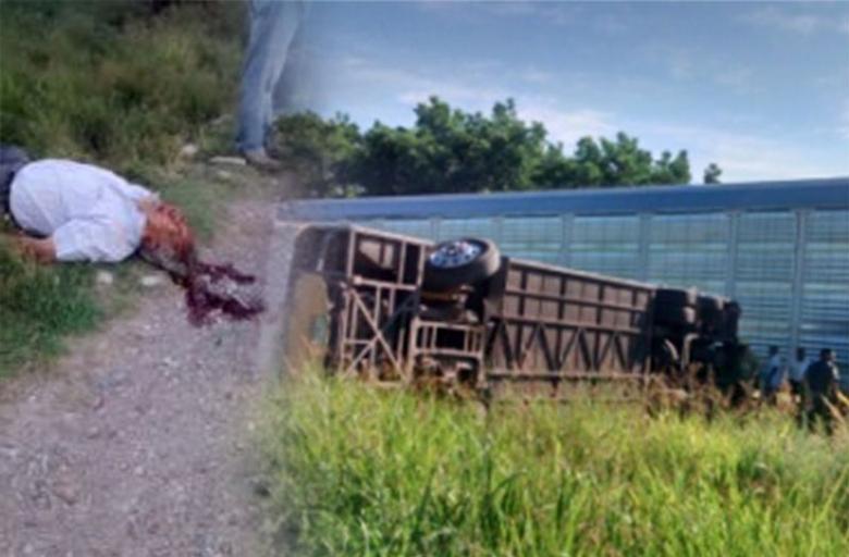 Dieron a conocer las identidades de las tres personas fallecidas, y los heridos que viajaban en la parte delantera del autobús de pasajeros de la línea Autotransportes Rápidos Delicias, cuyo conductor intentó ganarle el paso al tren.