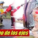 """Vuelca autobús """"pirata"""" en rúa Camargo-Jiménez; una mujer sin vida y 8 heridos"""