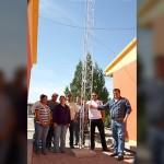 Lleva Gobierno de #Meoqui internet a comunidad de Potrero del Llano