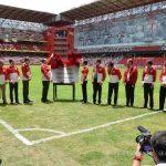 ? Peña Nieto inaugura el remodelado estadio Nemesio Diez