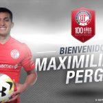 ? OFICIAL: Maximiliano Perg es nuevo Jugador del @TolucaFC #DiablosTwitteros