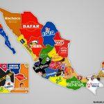 ?? Este mapa muestra donde nacieron las 32 marcas + populares de MX