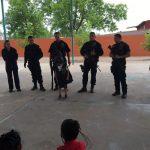 """📝 Llevan programa """"Policía Amigo"""" preescolar de Estación Consuelo en Meoqui"""
