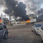 Pánico y confusión: Las imágenes y videos de las balaceras y enfrentamientos en Culiacán