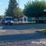 Otra vez: Caos por fuga de amoniaco en la planta refresquera Elite de Meoqui, evacúan maquiladora