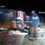 Fuerte choque en Meoqui cobra vida de 3 jóvenes; ya fueron identificados