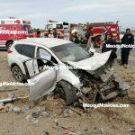 Dos personas s1n vida tras f4tal volc4dura en Meoqui